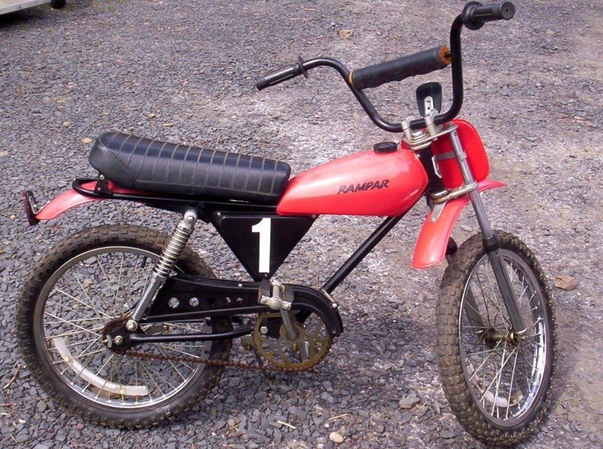 HR5 motocross off-road bike